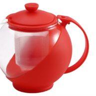 Čajnik s filterom 750 ml - crveni